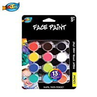 ARTOYS Child Make-up Facial Colors Nontoxic Washable Girls Make-up Kit for Body Colors Halloween Carnival Christmas Make-up Body painting Face painting