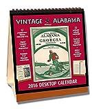 Alabama Crimson Tide 2016 Vintage Desktop Calendar by Asgard Press (2015-09-15)