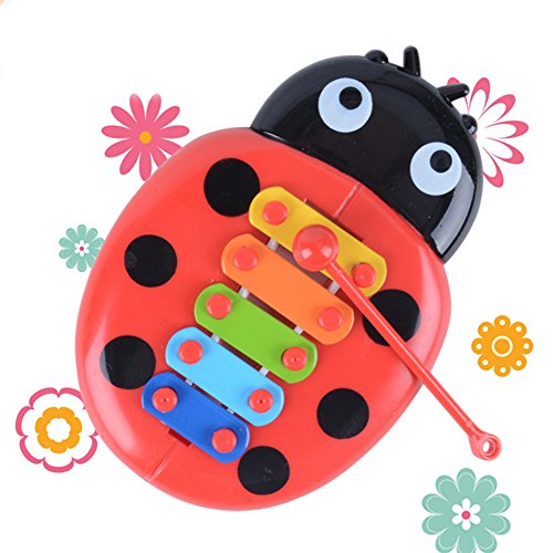 Baby Percussion Instrument Spielzeug, Puzzle Insekten Piano Early Music Xylophon