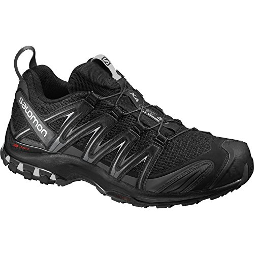 Salomon XA Pro 3D Herren Traillaufschuhe, Black/Magnet/Quiet Shade, 44 2/3 EU