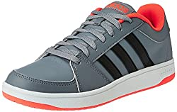 adidas neo Mens Hoops VS Grey, Cblack and Solred Basketball Shoes - 7 UK/India (40.7 EU)