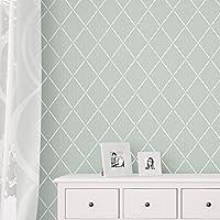 Trellis dekorative Wandschablone - Schablonen für wände - Maler Schablonen