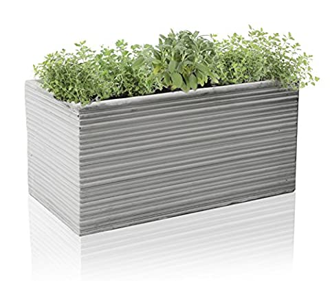 Berniss Fibrecotta Trough Planter -