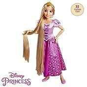 51Ws0rzy 1L. SS177 Muñeca de Rapunzel de 80 cm Cuenta con pelo largo El paquete incluye un cepillo de pelo muñeca rapunzel 80 cm