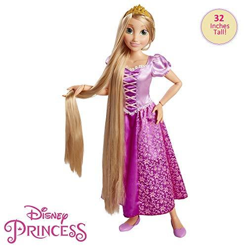 51Ws0rzy 1L. SS500 Muñeca de Rapunzel de 80 cm Cuenta con pelo largo El paquete incluye un cepillo de pelo muñeca rapunzel 80 cm