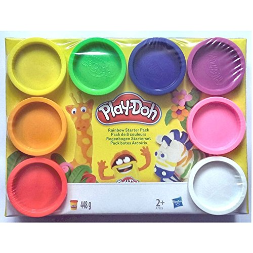 play-doh-rainbow-starter-pack-a7923-contains-8x-compound-tubs-totalling-448-grams-variety-colours
