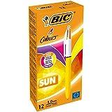 BIC 949897penna a sfera a 4colori Sun (confezione da 12)