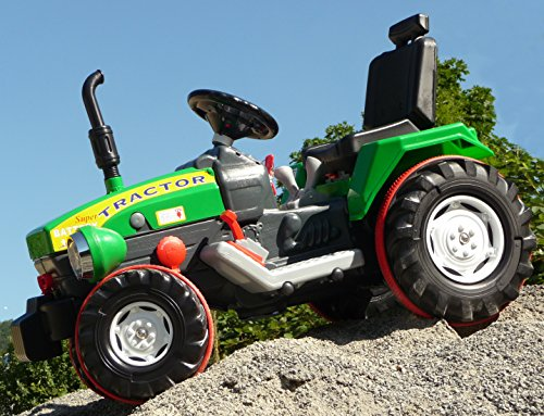 "*ELEKTRO Traktor mit TURBO-SPEED Gang & 12-Volt AKKU in TOP QUALITÃ""T*"