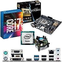 INTEL Skylake Core i7 6700K 4.0Ghz, ASUS H110M-A CPU & Motherboard Bundle
