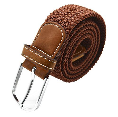 Meta-U Unisex intrecciato gomma elastica String Belt