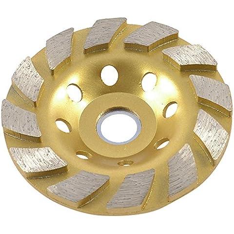 Sourcingmap a13052800ux0854 - Muela de rectificar tipo diamante (9,9 cm)