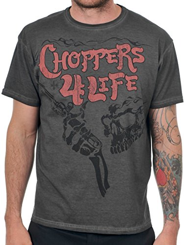 T-Shirt West Coast Choppers Choppers For Life Nero (S , Nero)