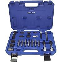 Apiex - Coffre de 22 pièces d'embouts et accessoires pour le démontage des poulies d'alternateurs débrayables