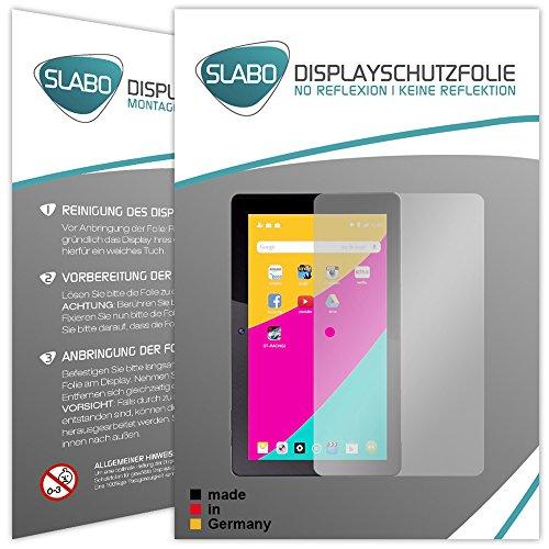 2 x Slabo Displayschutzfolie Dragon Touch X10 Displayschutz Schutzfolie Folie