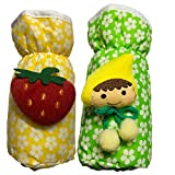 #10: First Trend Baby Feeding Bottle Cover with Soft & Attractive Fancy Cartoon Set of 2 Colors & Designs