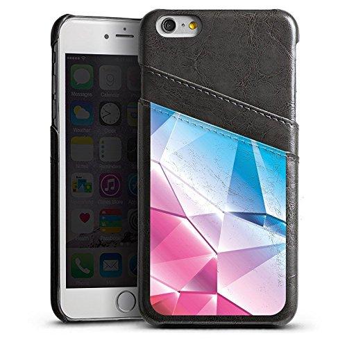 Apple iPhone 4 Housse Étui Silicone Coque Protection Cristal Arc-en-ciel Motif Étui en cuir gris