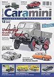 Caramini - Faszination Modellautos 12/2015 Extra 20 Seiten Katalog Über 700 Neuheiten