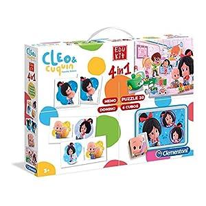 Edukit Cleo & Cuquin 4 en 1
