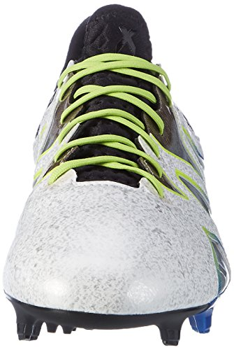 Chaussures de football ADIDAS PERFORMANCE X 15+ SL FG / AG blanc/noir
