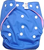 #3: Bottom Genius Re usable Pocket cloth diaper cover with 100% cotton highly absorbing 6 layer Insert