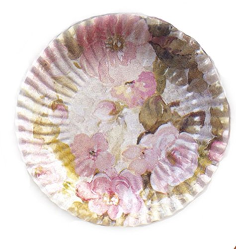 10 Grandes Assiettes Plates Fleurs Printanières Ø 29.5 cm [8018100008422]