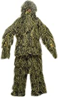 Nitehawk Adults Military Camouflage Woodland Sniper Ghillie Suit