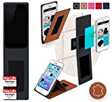 Obi Worldphone MV1 Hülle Cover Case in Braun Leder -