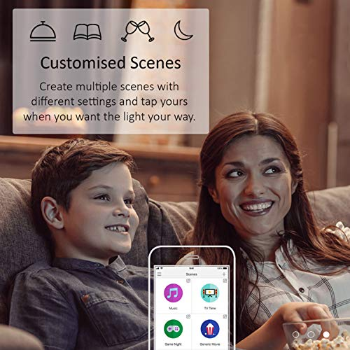 TP-Link LB130 Wi-Fi SmartLight 11W E27 to B22 Base LED Bulb (Color) Compatible with Android, iOS, Amazon Alexa and Google Assistant