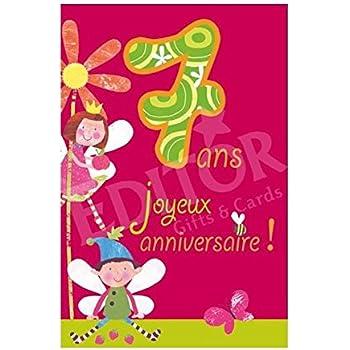 Carte Joyeux Anniversaire 19 Ans Cadeau Maestro Amazon Fr