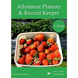 3 Year Allotment Planner And Record Keeper