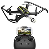 DROCON U31W Navigator Kids Drone with HD Camera (1280 x 720P) WIFI FPV Quadcopter with Altitude Hold Headless Mode for Beginner from DROCON