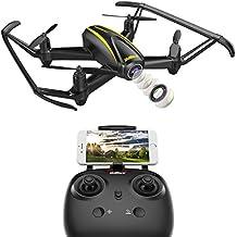 DROCON U31W Navigator Drohne für Kinder mit HD Kamera (1280 x 720p) 120° Linse WLAN FPV Quadcopter mit Schwebefunktion & Kopflosmodus für Anfänger