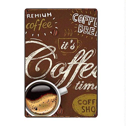 HALEY GAINES Coffee Time Placa Cartel Póster Pared