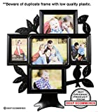 Deep Family Tree 5 in 1 Photo Frame Blac...