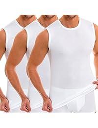 HERMKO 3040 de vêtement débardeur pour homme avec col rond