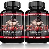Ziavil 2er Pack | Testo Booster Extreme | 240 Kapseln | Muskelaufbau Paket