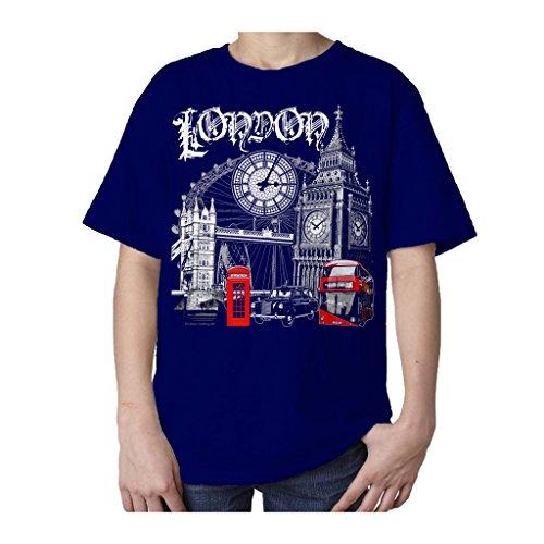 technicolor-souvenir-de-londres-angleterre-uk-t-shirt-pour-enfant-bleu-6-ans