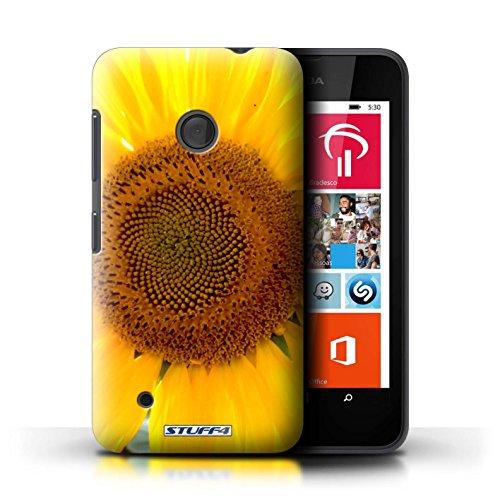 Kobalt® Imprimé Etui / Coque pour Nokia Lumia 530 / jonquille conception / Série floral Fleurs Tournesol