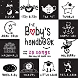 The Baby's Handbook: 21 Black and White Nursery Rhyme Songs, Itsy Bitsy Spider