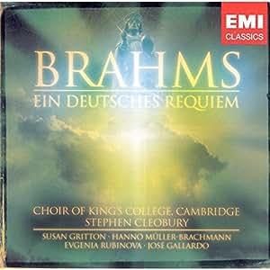 Brahms: Ein deutsches Requiem Op. 45 (Orchesterpart arr. für 2 Klaviere)