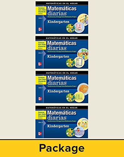 Everyday Mathematics, Grade K, Matemáticas En El Hogar, Libros 1-4 por Max Bell