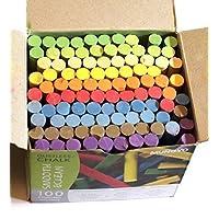 Creation Station Dustless Blackboard Chalk, Multi-Colour_Parent