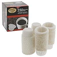 Nescafe Nespresso Coffee Disposable Filters (250 Pack) - For use with Melody, Genio/Picolo and Mini Me, NOT Circolo and Esperta