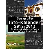 Der große Info-Kalender 2012/2013