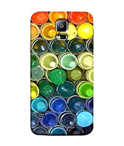 Fuson Designer Back Case Cover for Samsung Galaxy S5 Mini :: Samsung Galaxy S5 Mini Duos :: Samsung Galaxy S5 Mini Duos G80 0H/Ds :: Samsung Galaxy S5 Mini G800F G800A G800Hq G800H G800M G800R4 G800Y (Color Balti Multiple Artist Painting Male Female)