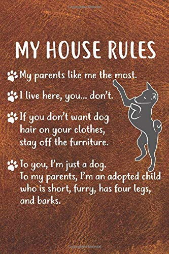 My House Rules Gratitude Journal: Practice Gratitude and Daily Reflection in the Everyday For Basenji Dog Puppy Owners and Lovers