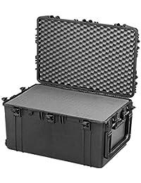 Max Cases - Valigetta con Spugna Cubettata per Trasportare e Proteggere Apparecchiature e Materiali Sensibili, MAX750H400S, Dimensioni Interne 750 x 480 x 400 mm