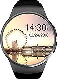 GPCT Bluetooth [Android/iOS écran tactile] [résistant à l'eau] entraînement/veille/moniteur de fréquence cardiaque [Smart Watch] pour iPhone 7Plus/7/6S Plus/6S/6/5, galaxy Edge/S6/S5, HTC, Sony, LG, Windows Phone...