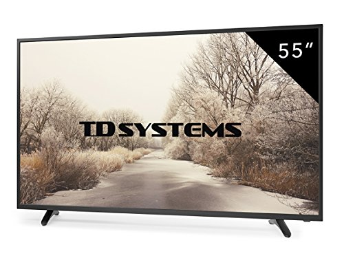 Televisores Led 55 pulgadas Full HD TD Systems K55DLT6F (Resolución 1920x1080/HDMI 3/VGA 1/USB Reproductor y Grabador) Tv Led