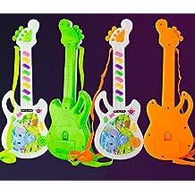 Bellecita Lindos Juguetes Que atraen Baby Mini Guitarra electrónica Juguetes para niños Juguete Musical Toddler Animal